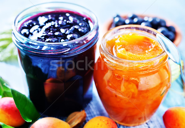 sweet jam Stock photo © tycoon