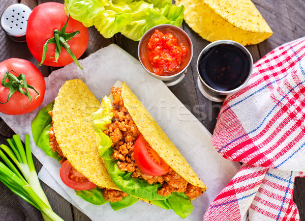 taco Stock photo © tycoon