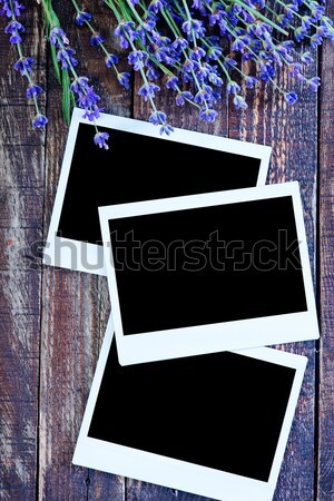 Immediato foto fotogrammi vecchio legno amore Foto d'archivio © tycoon