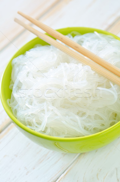 rice noodle Stock photo © tycoon