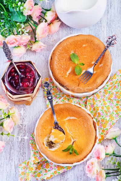 チーズケーキ チーズケーキ ジャム 表 食品 背景 ストックフォト © tycoon