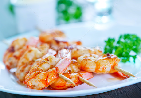 Plaat tabel business bar kleur citroen Stockfoto © tycoon