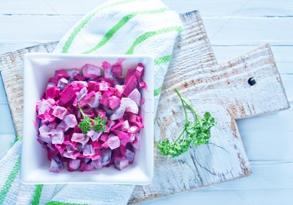 beet salad Stock photo © tycoon