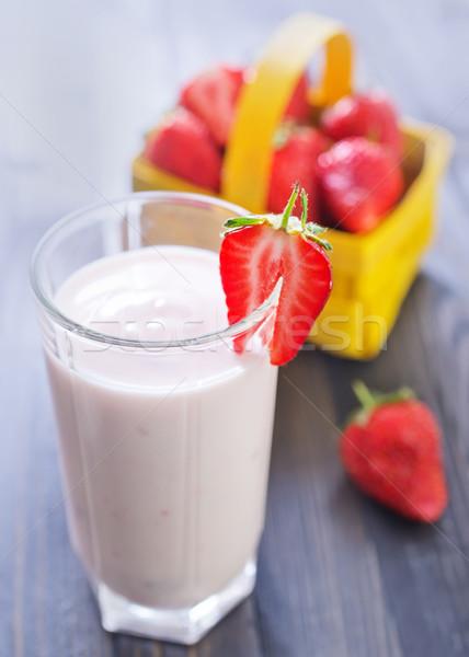 sweet yogurt Stock photo © tycoon