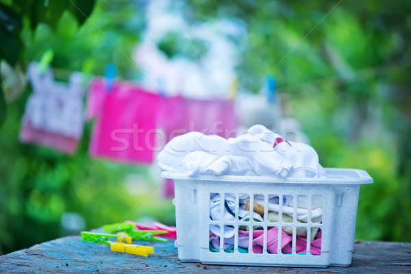 baby clothes Stock photo © tycoon