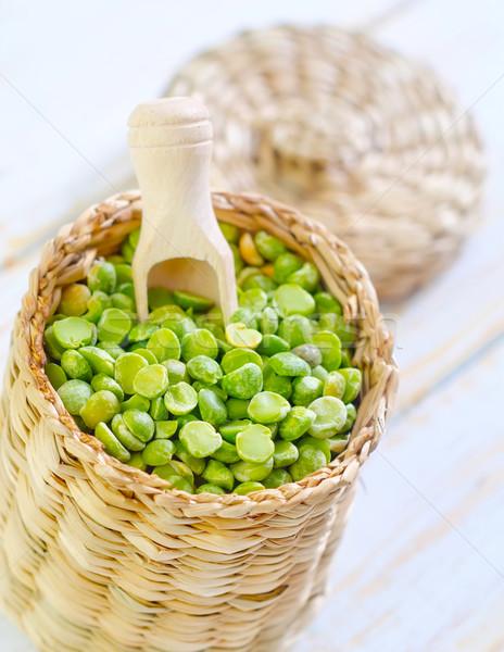 幹 豌豆 質地 食品 綠色 紅色 商業照片 © tycoon