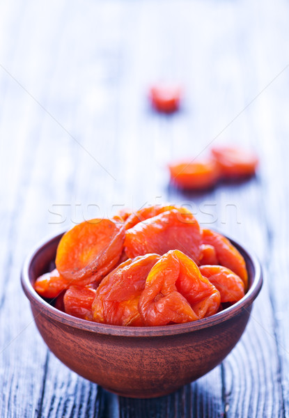 dry apricot Stock photo © tycoon