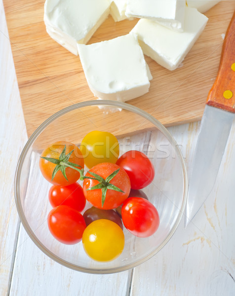 feta and tomato Stock photo © tycoon