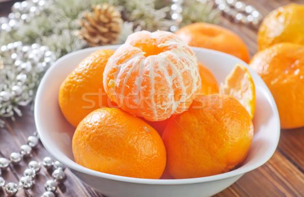 Voedsel gezondheid tabel groene dessert Geel Stockfoto © tycoon