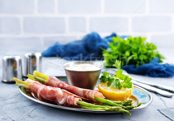 green asparagus Stock photo © tycoon