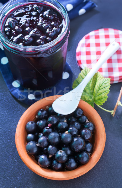 jam from black currant Stock photo © tycoon