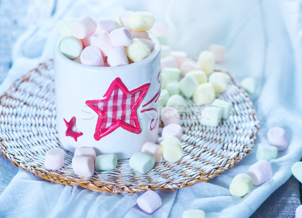 marshmallows Stock photo © tycoon