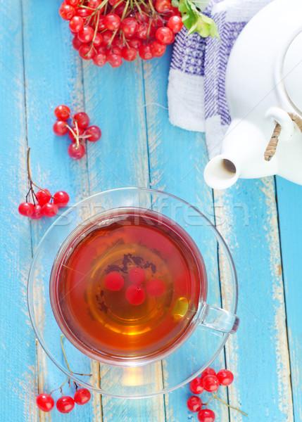 свежие чай природы лист фон лет Сток-фото © tycoon