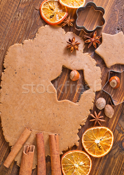 Stock photo: dough for cookies