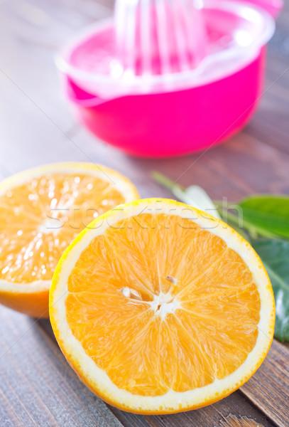 Citrus natuur kruis vruchten tabel eten Stockfoto © tycoon