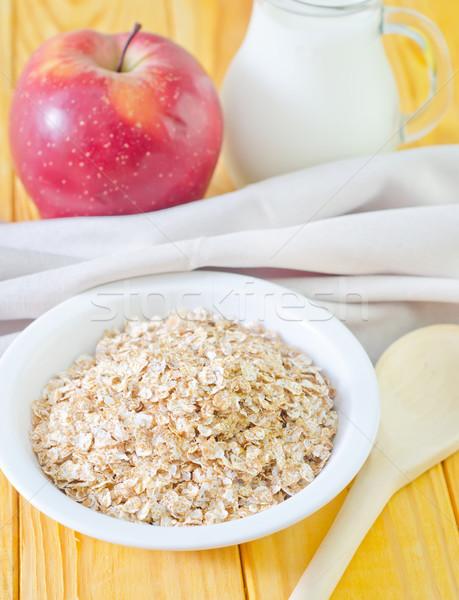 Сток-фото: завтрак · продовольствие · яблоко · фрукты · здоровья · красный