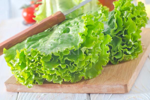 свежие Салат свет голову еды белый Сток-фото © tycoon