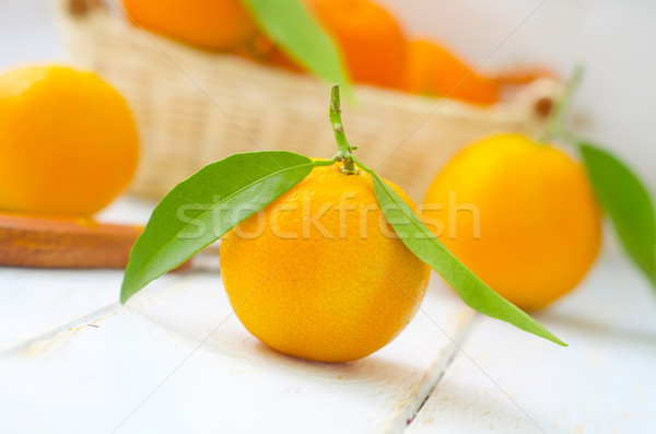 mandarin Stock photo © tycoon