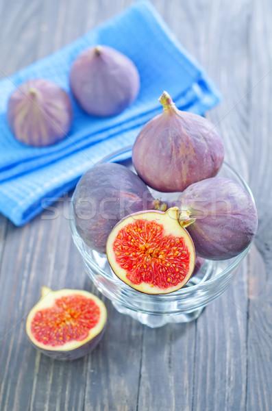 étel természet gyümölcs asztal tányér ősz Stock fotó © tycoon
