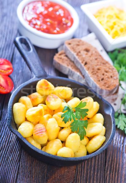 potato gnocchi Stock photo © tycoon