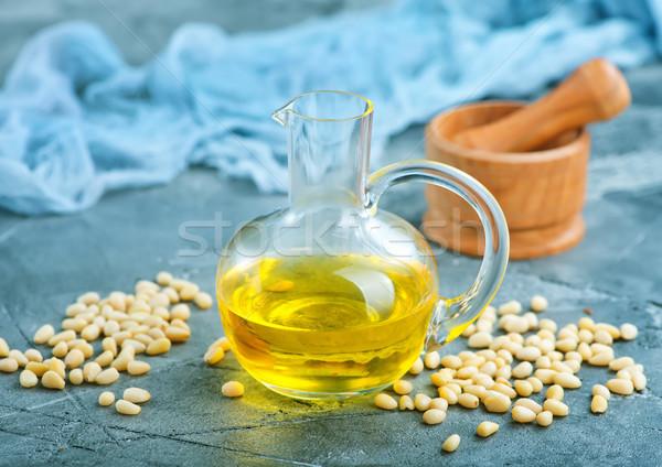 Stock photo: corn oil