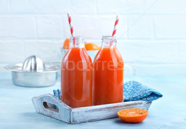 fresh fruit juice Stock photo © tycoon