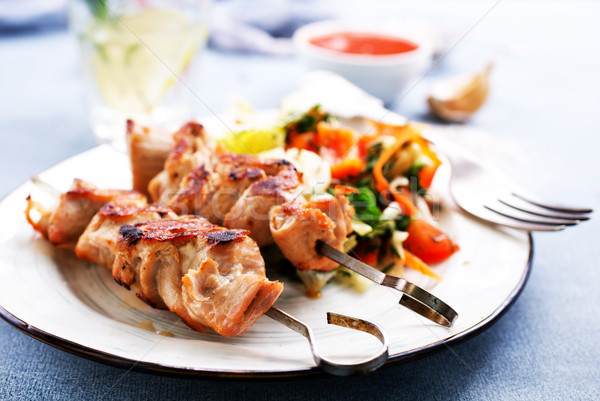 kebab from tuna  Stock photo © tycoon