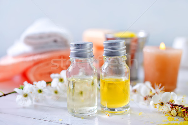 sea salt and soap Stock photo © tycoon