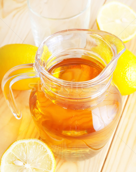 lemon water Stock photo © tycoon