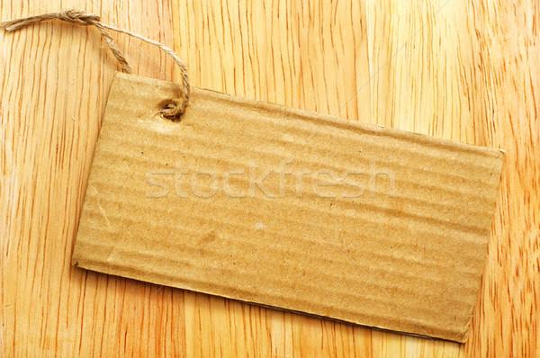 пространстве подарок белый сведению веревку Сток-фото © tycoon