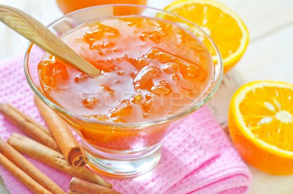 orange jam Stock photo © tycoon
