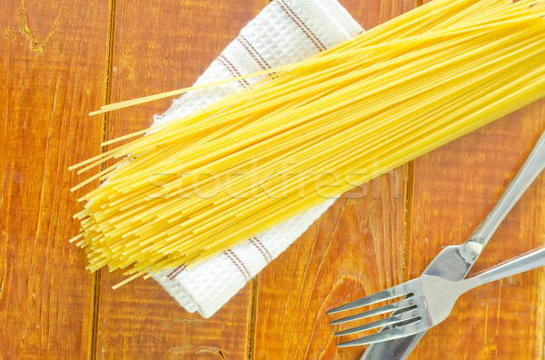 生 スパゲティ テクスチャ 抽象的な 自然 レストラン ストックフォト © tycoon