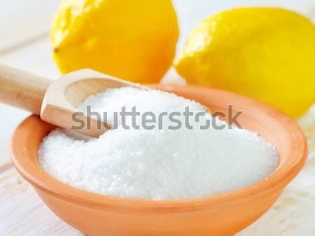 Cukor fa egészség űr fehér főzés Stock fotó © tycoon