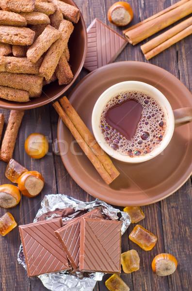coffee with chocolate Stock photo © tycoon
