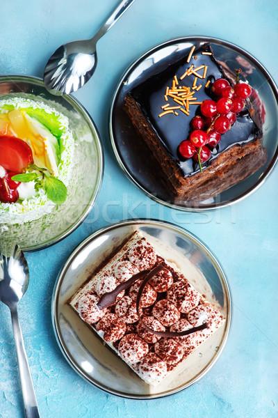 ケーキ 表 花 食品 バラ ストックフォト © tycoon