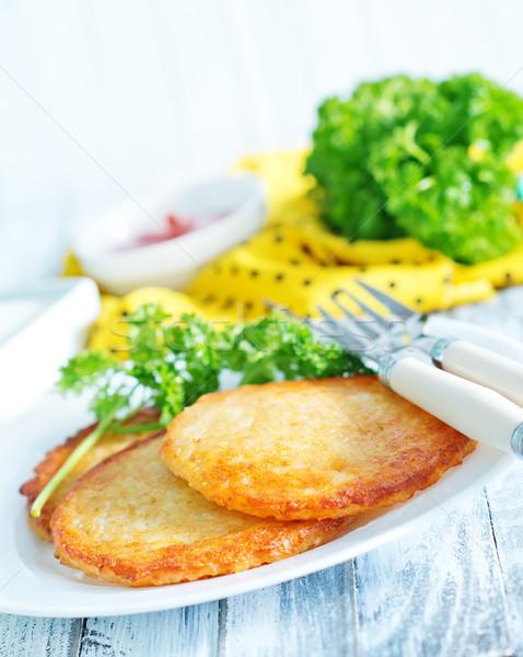 Stock photo: potato pancakes