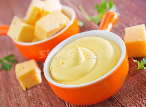 cheese sauce Stock photo © tycoon
