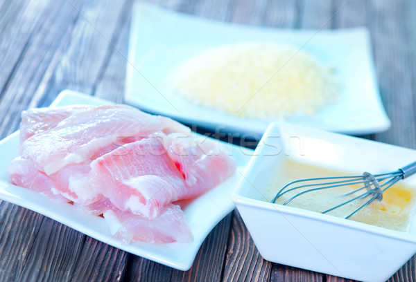 raw fish Stock photo © tycoon