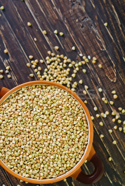 green buckwheat Stock photo © tycoon