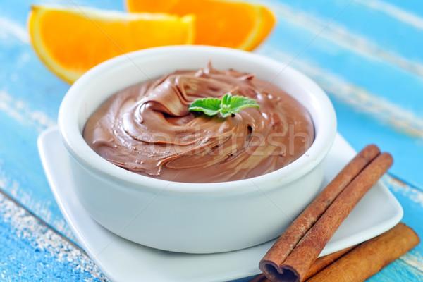 chocolate with orange Stock photo © tycoon