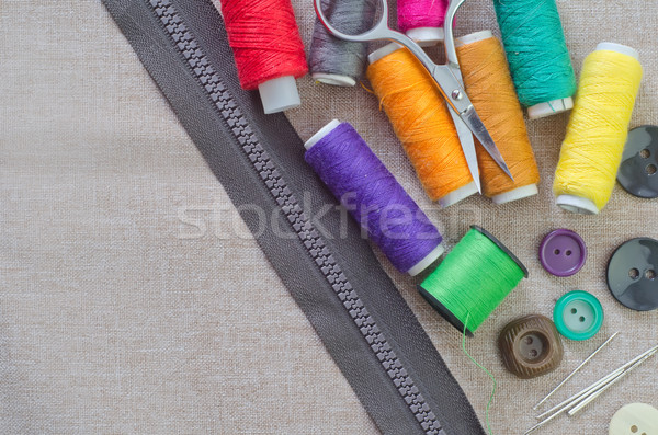 Sewing accessories Stock photo © tycoon