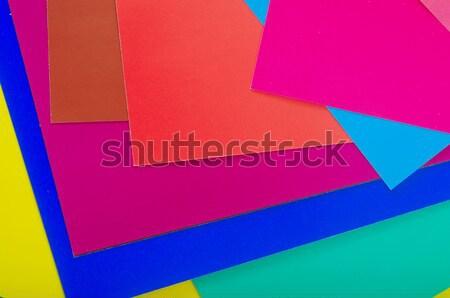 цвета бумаги цветок школы фон образование Сток-фото © tycoon