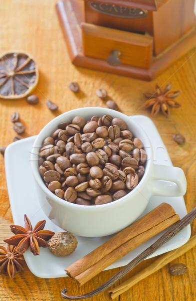 кофе аромат Spice фон медицина Бар Сток-фото © tycoon