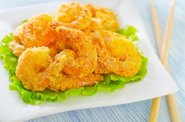 shrimps Stock photo © tycoon