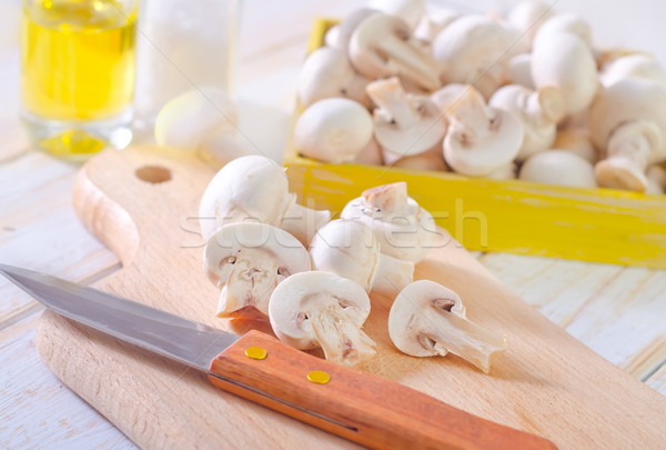 キノコ 自然 キッチン ディナー 料理 調理 ストックフォト © tycoon
