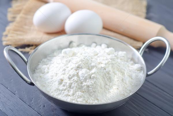 flour and eggs Stock photo © tycoon