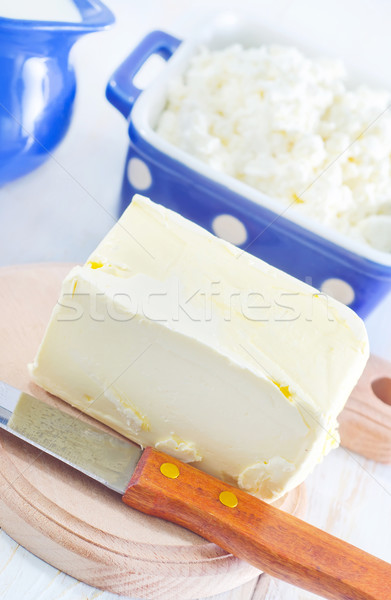 butter, milk and cottage Stock photo © tycoon