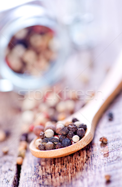 mix pepper Stock photo © tycoon