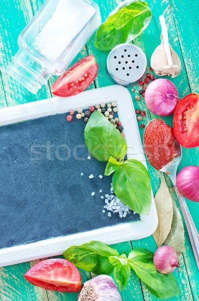 аромат Spice бизнеса продовольствие природы пространстве Сток-фото © tycoon