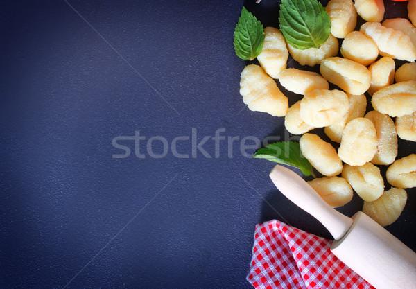 gnocchi Stock photo © tycoon